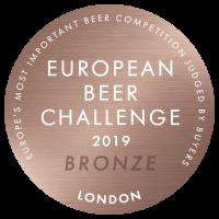 European Beer Challenge 2019 Bronze Low Res