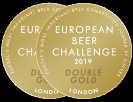 European Beer Challenge 2019 Double Gold Low Res