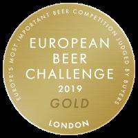 European Beer Challenge 2019 Gold Low Res