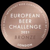 European Beer Challenge 2021 Bronze